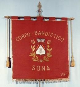 Gagliardetto Banda di Sona